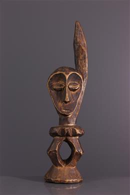Afrikaanse kunst - Beeldje Lega Iginga du Bwami