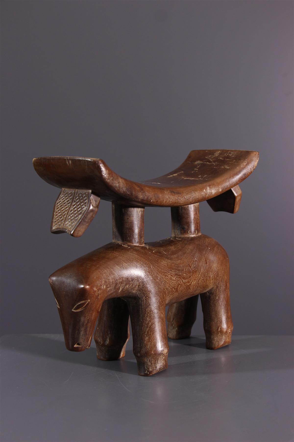Tschokwe neksteun  - Afrikaanse kunst