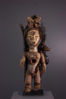 Het rituele lumbu van het standbeeld, Loumbo