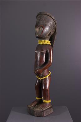 Het standbeeld oviMbudu van de vruchtbaarheid