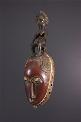 Afrikaanse kunst - Yaure Yohoure masker Ivoorkust