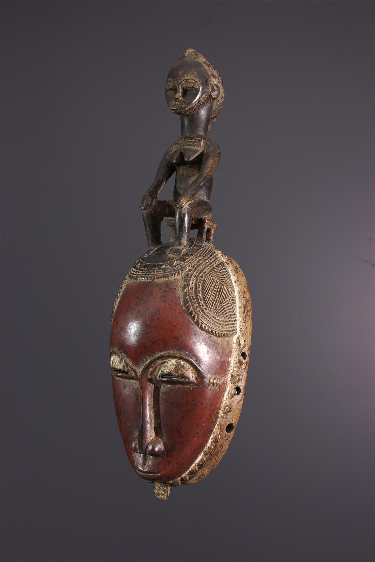 Yaure Yohoure masker Ivoorkust - Afrikaanse kunst