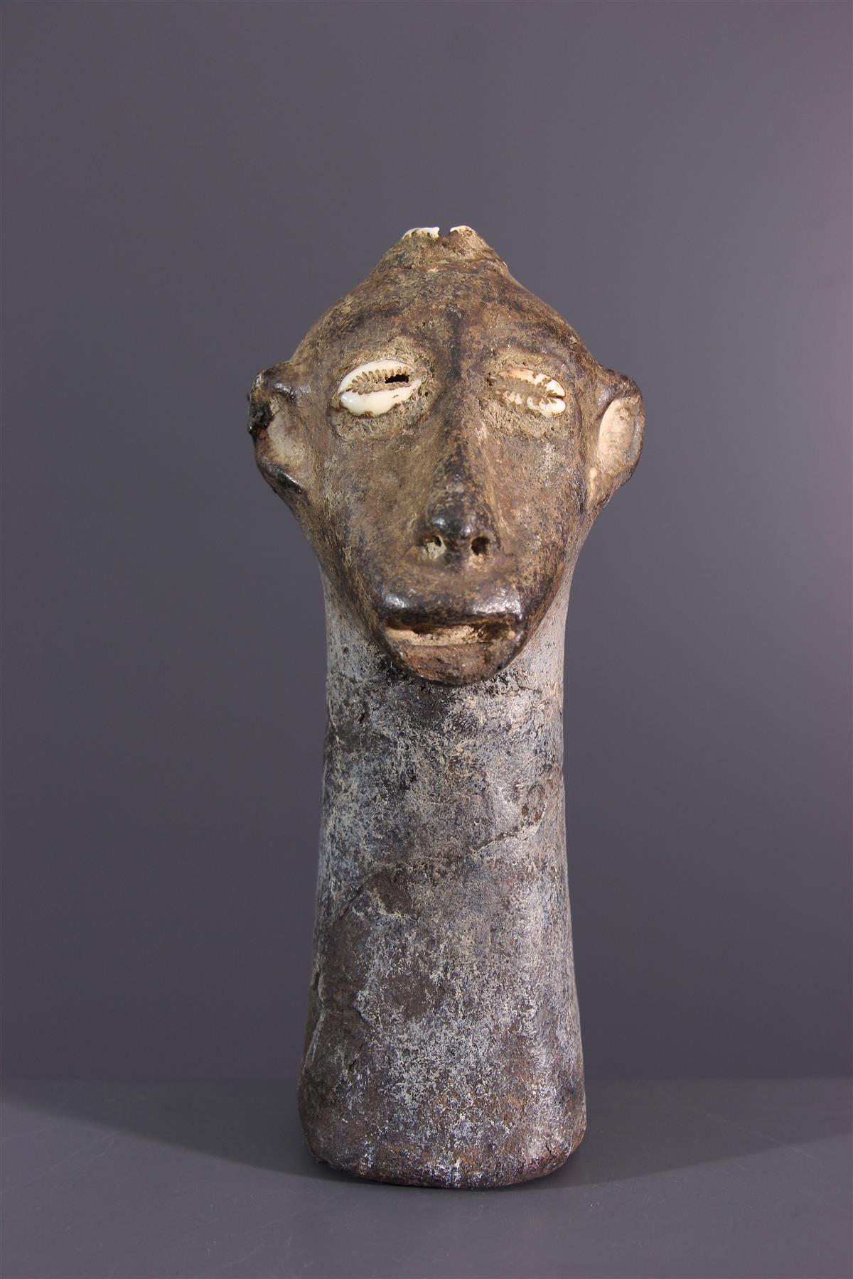 Zimba hoofd  - Afrikaanse kunst
