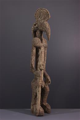 Bobo antropomorfe standbeeld van Mali