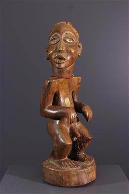 Afrikaanse kunst - Beeldje Nkisi Solongo of Sundi