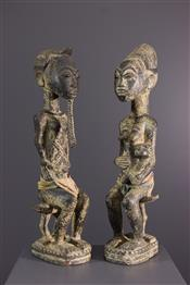 Statues africainesBaoule standbeeld