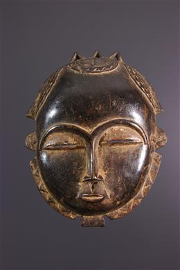 Afrikaanse kunst - Baoulé Maanmasker /Yohouré