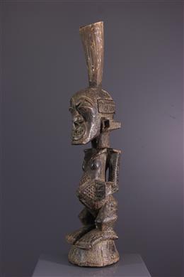 Afrikaanse kunst - Het standbeeld nkishi van nkishi van Songye