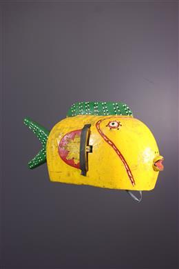 Bozo vis marionet masker