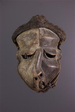 Afrikaanse kunst - Pende Mbangu Masker