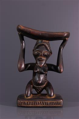 Afrikaanse kunst - Ondersteuning voor Luba/Songye hals