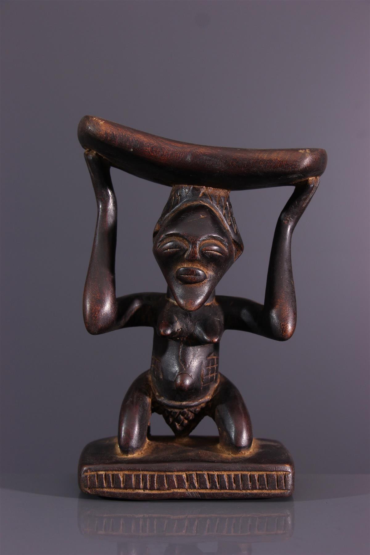 Ondersteuning voor de neck van Songye - Afrikaanse kunst