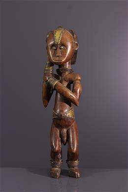 Afrikaanse kunst - Beeldje Fang