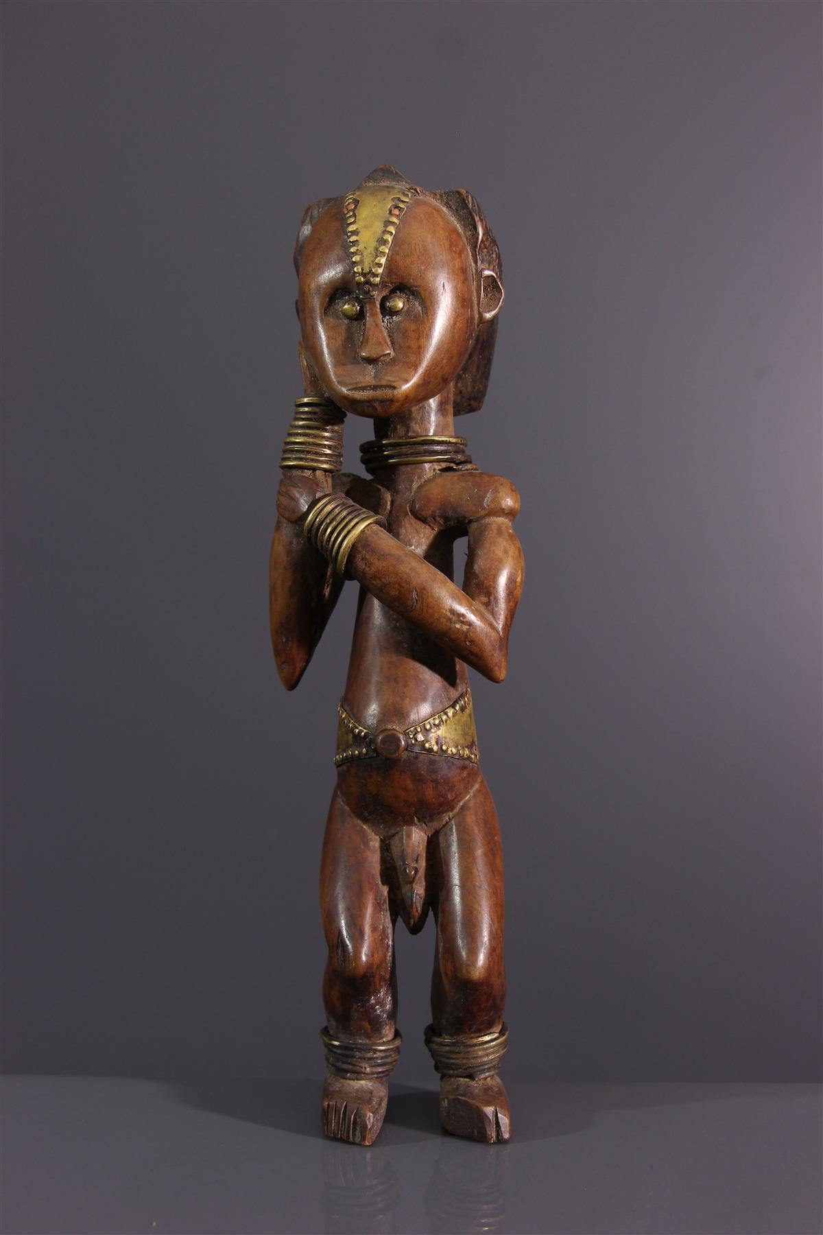 Beeldje Fang - Afrikaanse kunst