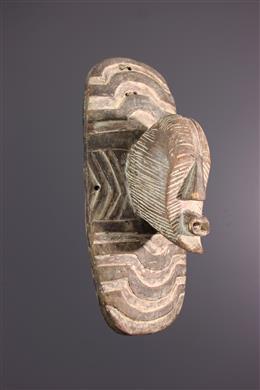 Kifwebe Songye Ngabo Schild