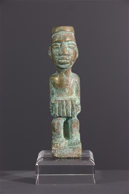 Afrikaanse kunst - Bronzen Kongo beeldje