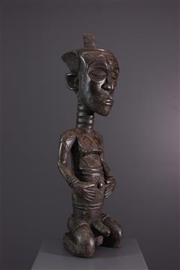Afrikaanse kunst - Dengese Isikimanji voorouder figuur