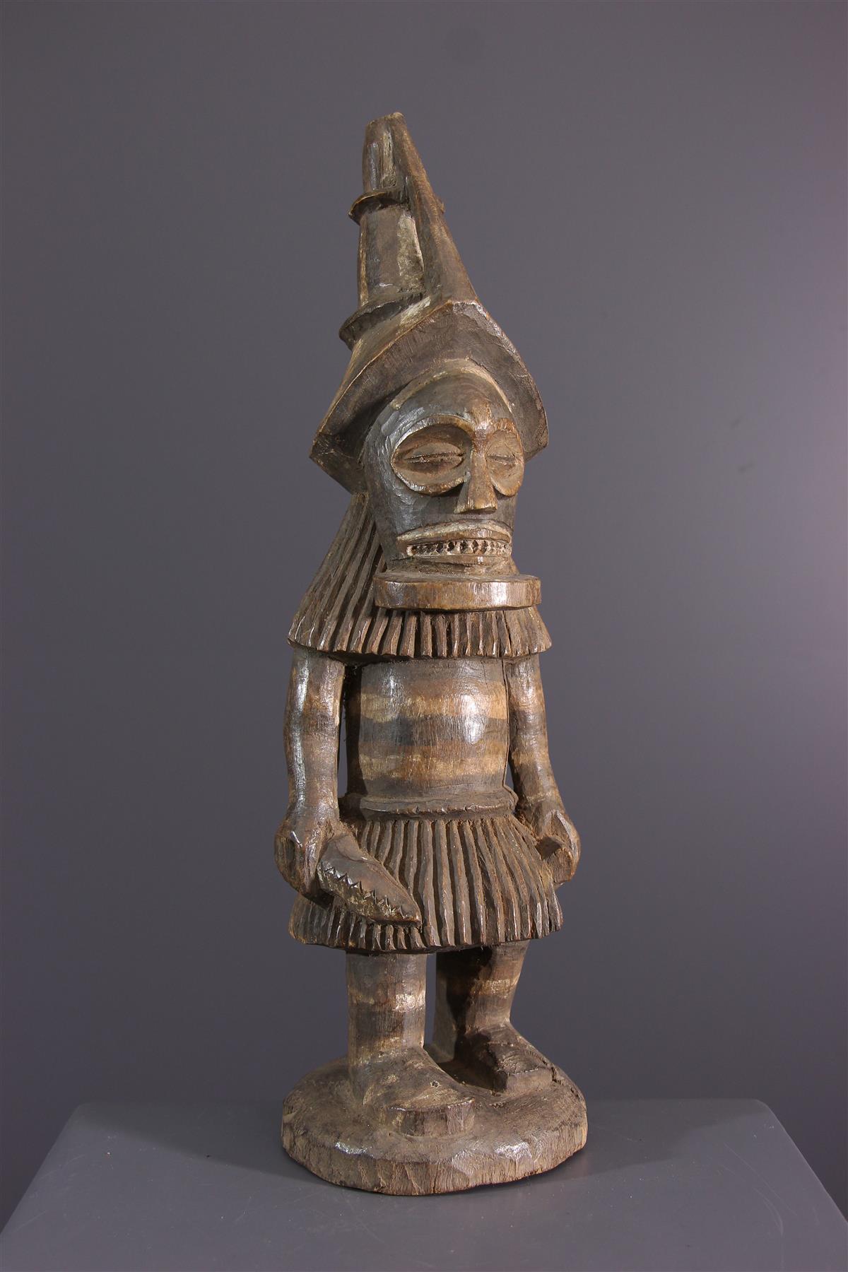 Tschokwe standbeeld - Afrikaanse kunst