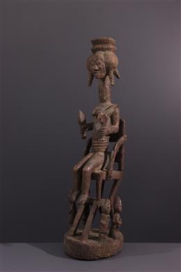 Afrikaanse kunst - Het altaarcijfer van Yoruba