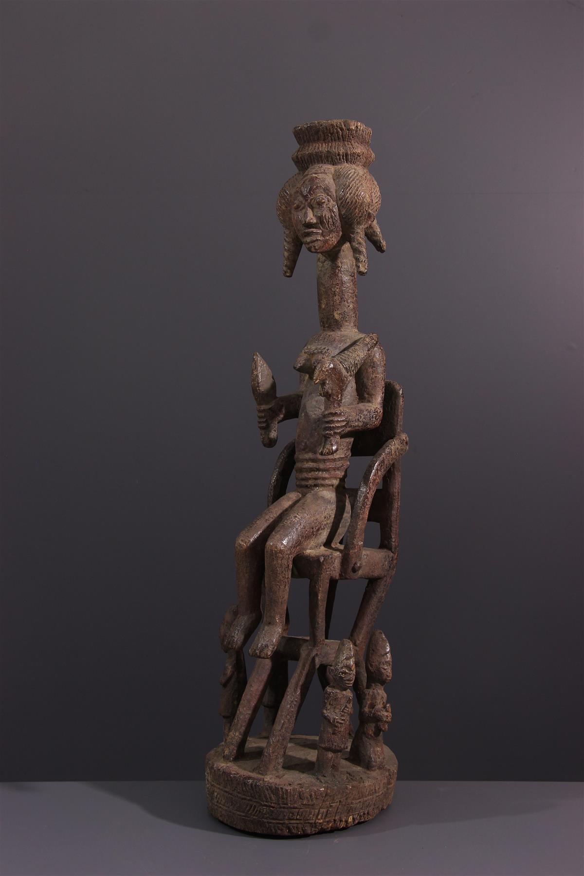 Beeld Yoruba - Afrikaanse kunst