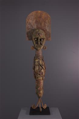 Ofo Igbo ritueel beeldhouwwerk