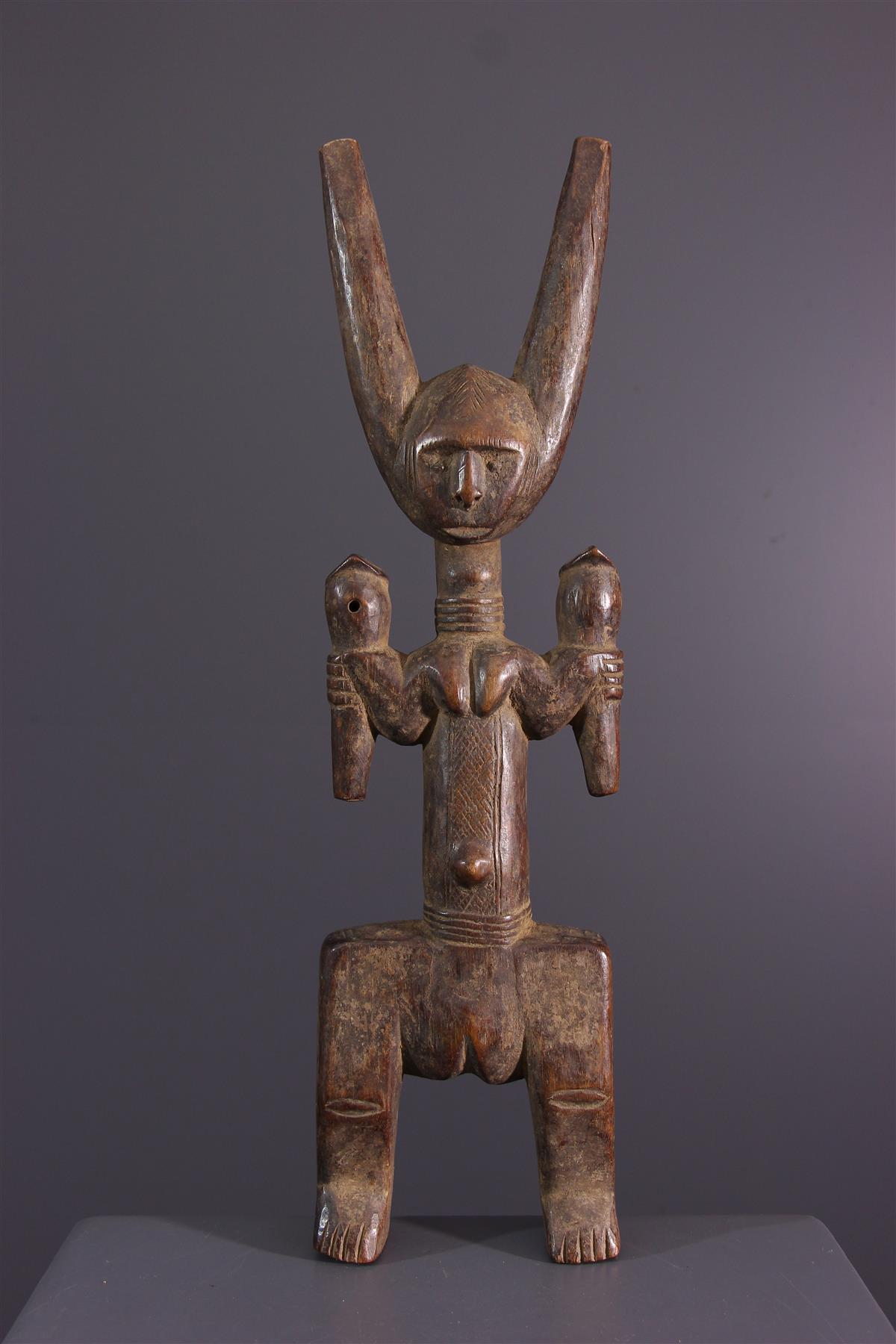 Mossi katapult - Afrikaanse kunst