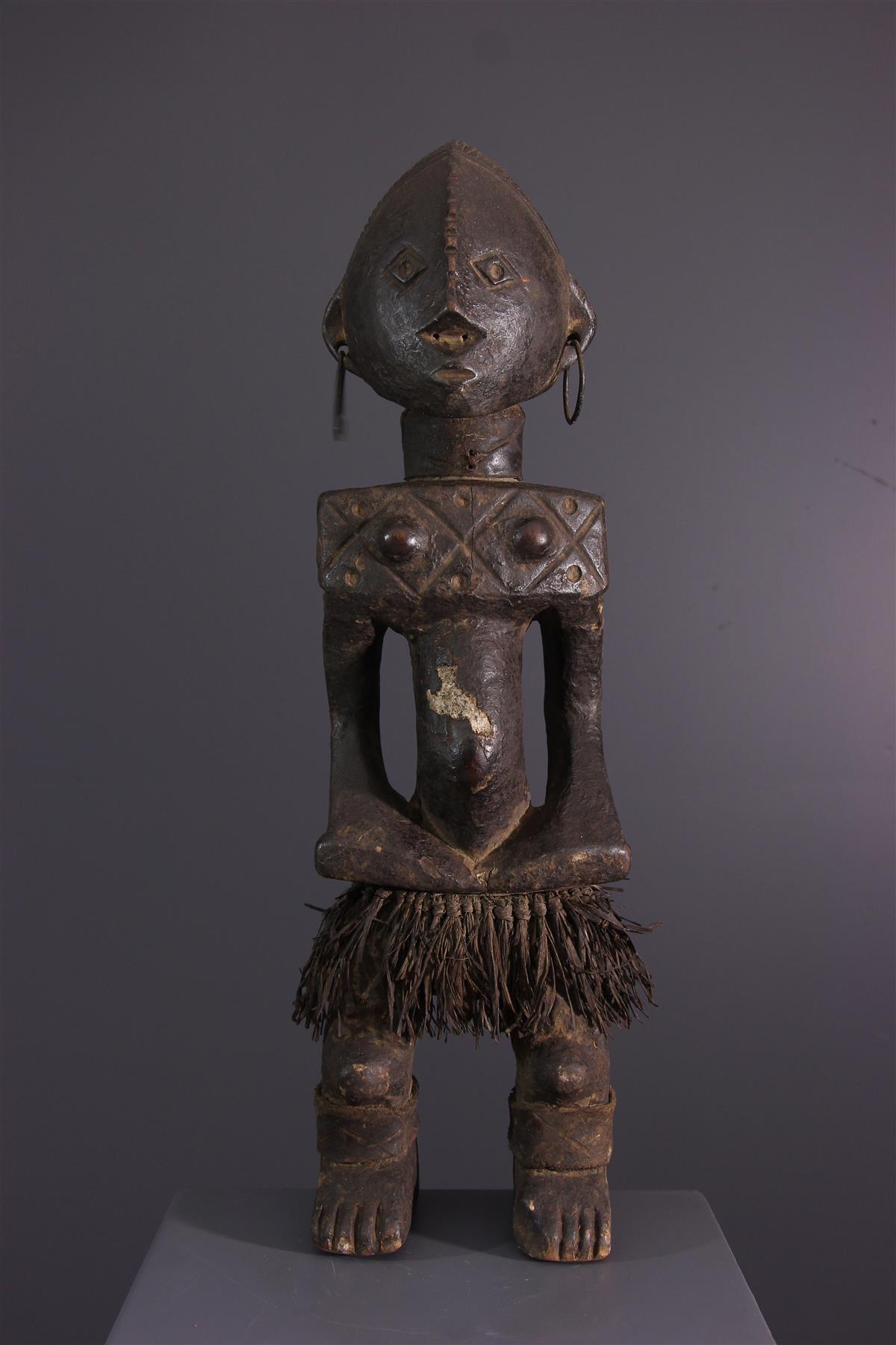 Beeld Ngbandi - Afrikaanse kunst