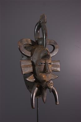 Afrikaanse kunst - Senoufo masker