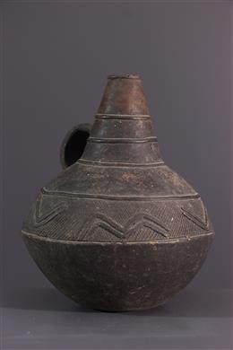 Jarre Mangbetu terracotta
