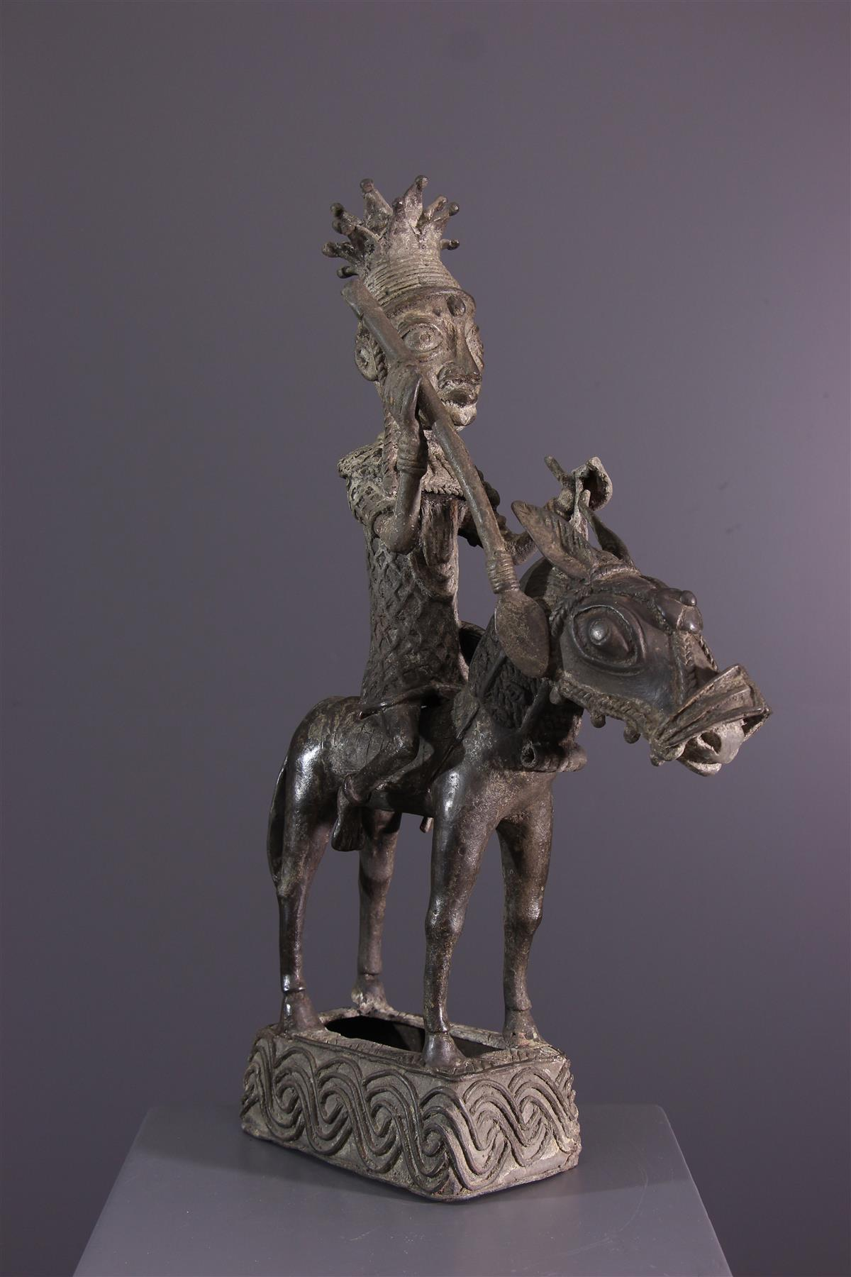 Benin ruiter - Afrikaanse kunst