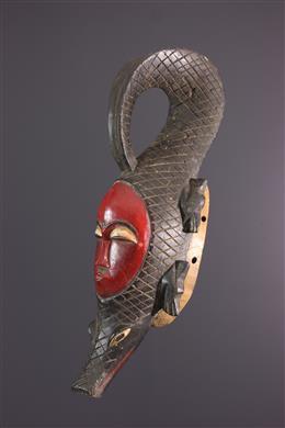 Afrikaanse kunst - Yaure, Yohoure, krokodilmasker