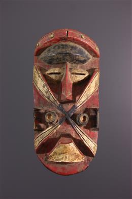 Afrikaanse kunst - Guéré/Bété masker