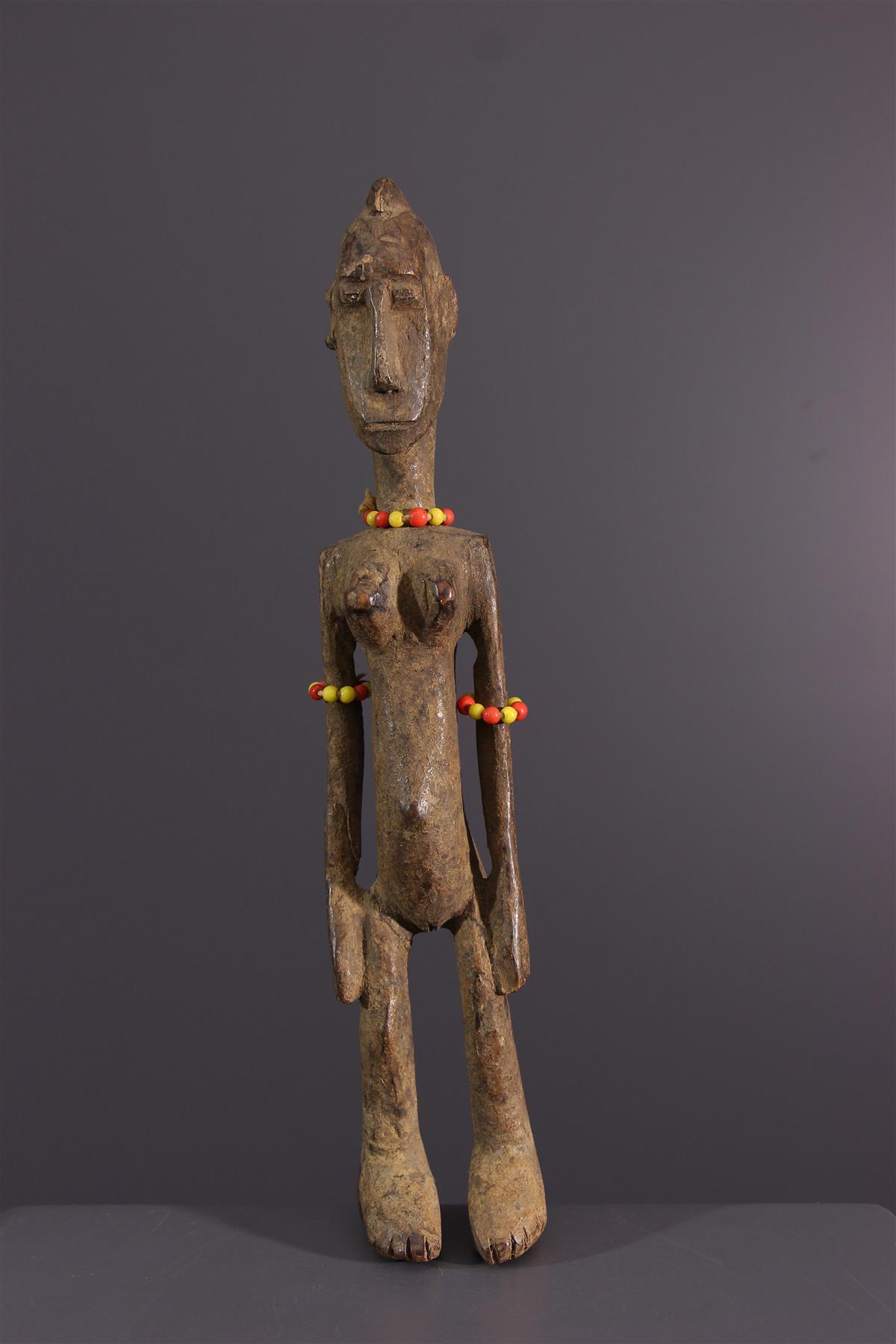 Bambara beeldje - Afrikaanse kunst