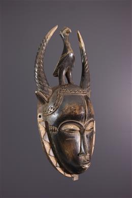 Afrikaanse kunst - Lomane Yaure masker