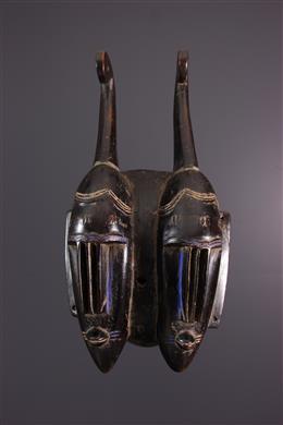 Afrikaanse kunst - Senoufo/Guro masker