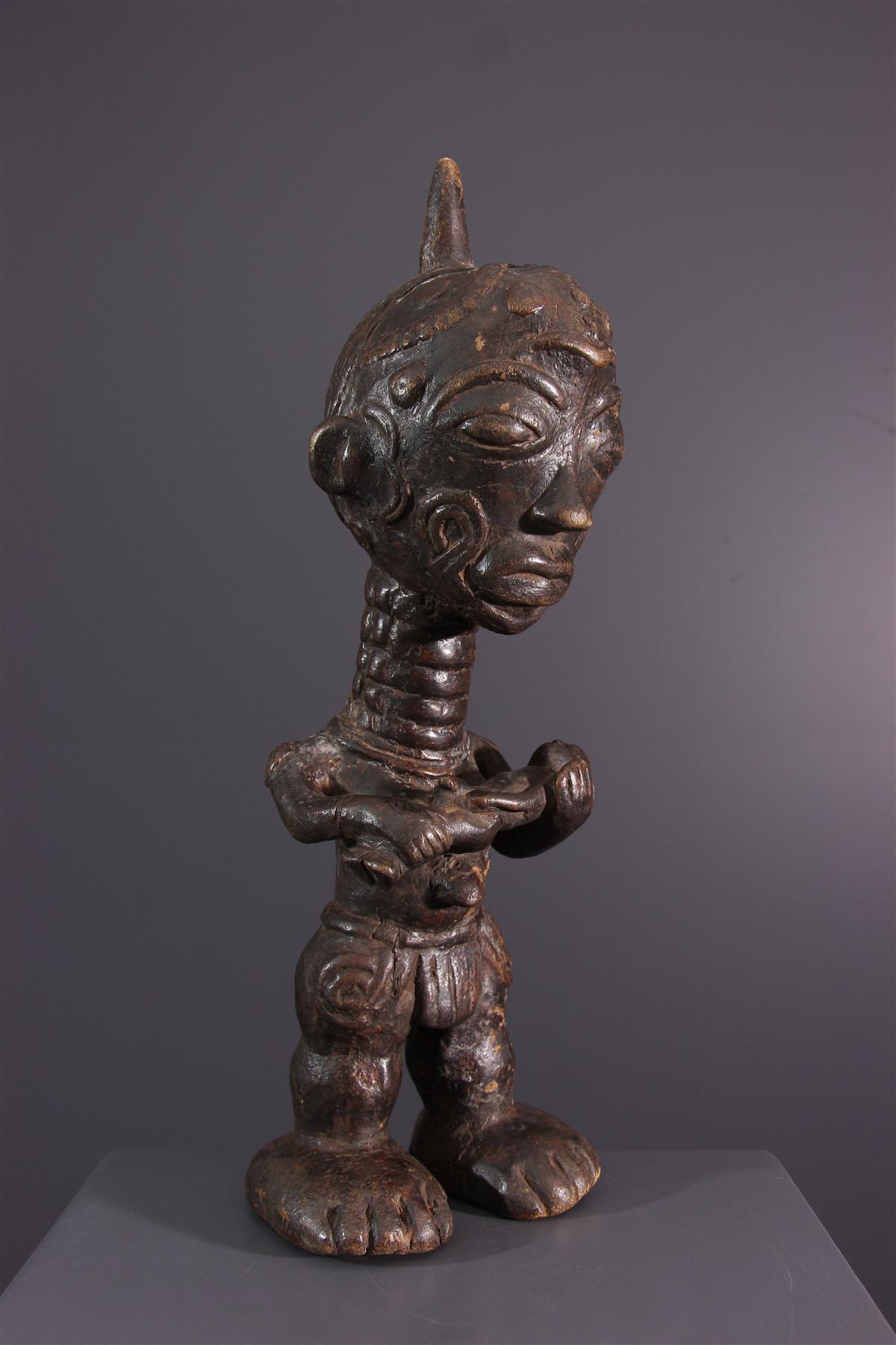 Lulua standbeeld - Afrikaanse kunst