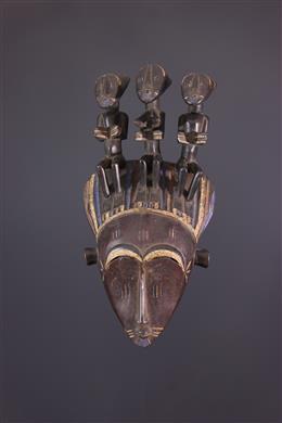 Afrikaanse kunst - Koulango Bouna Masker van de Do