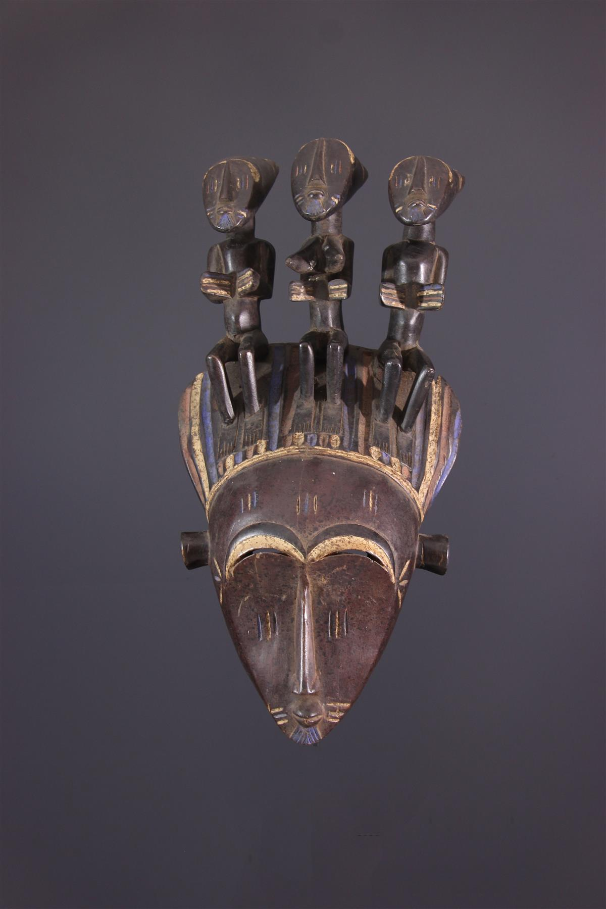 Koulango Masker - Afrikaanse kunst