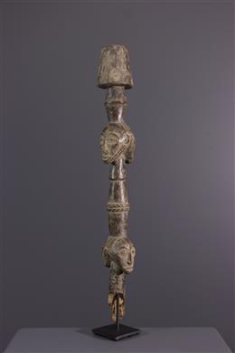 Bangubangu scepter top