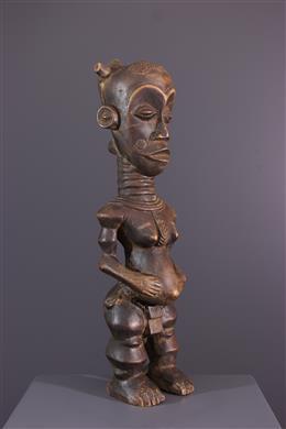 Afrikaanse kunst - Moederschapsfiguur Lulua Buanga Bua cibola