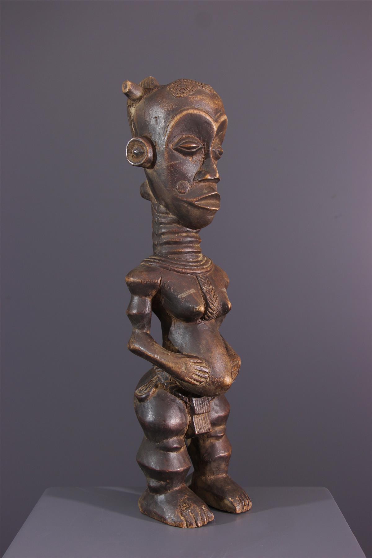 Beeldje Luluwa - Afrikaanse kunst