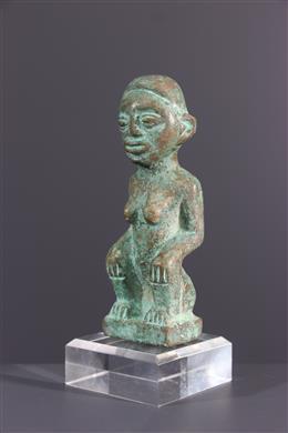 Bronzen Kongo beeldje
