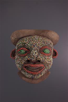 Kralenmasker van Bamoun