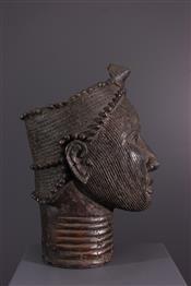 bronze africainHoofd Yoruba