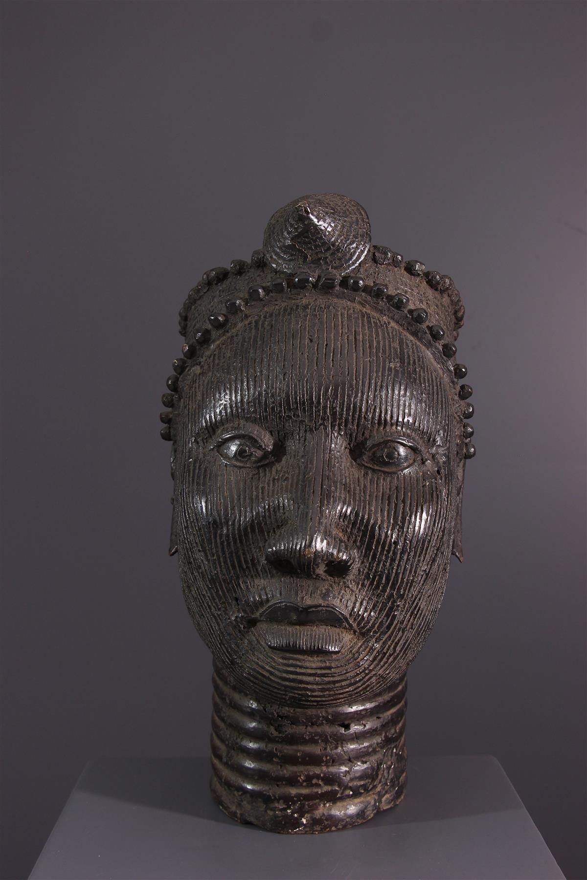 Hoofd Yoruba - Afrikaanse kunst