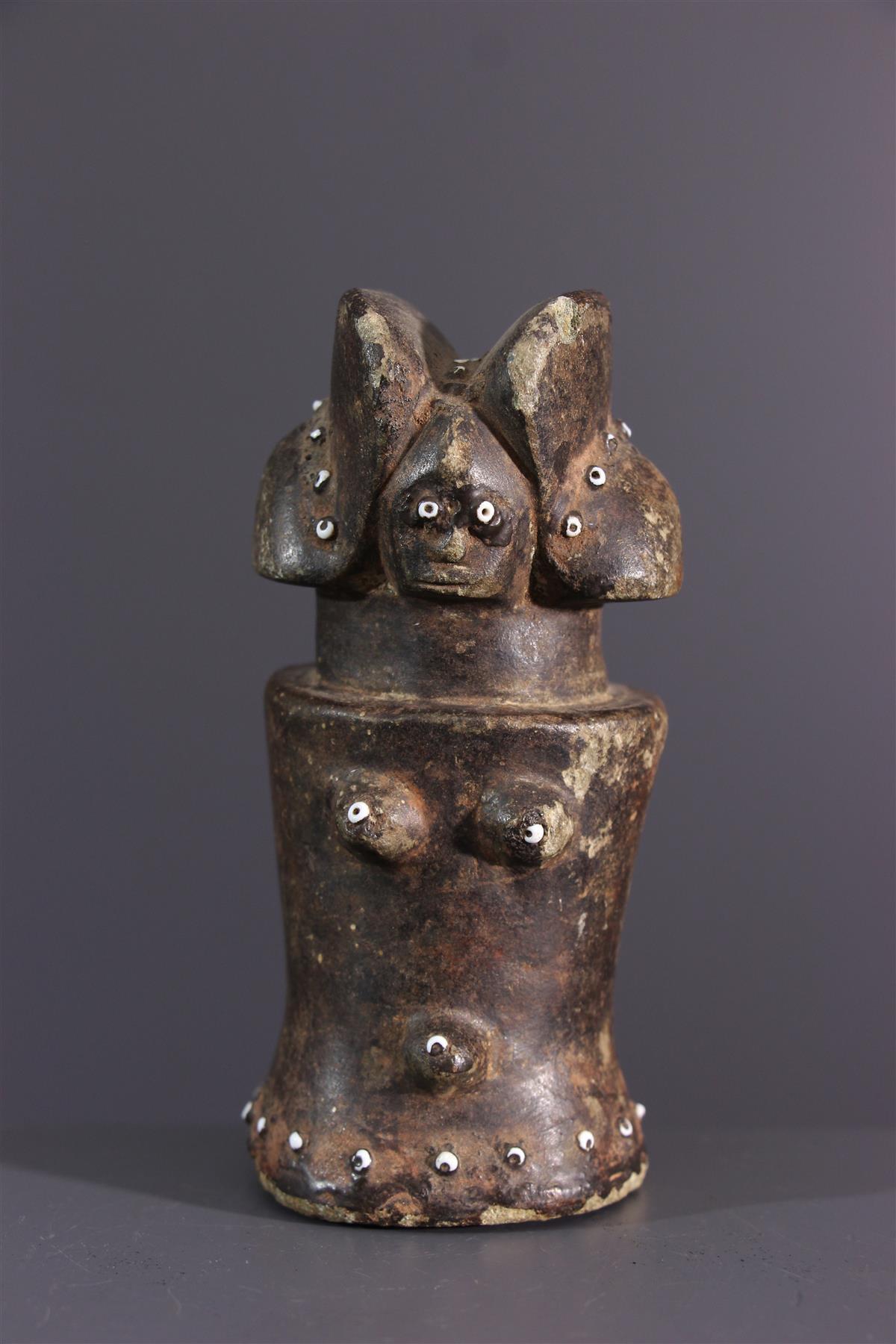 Zamaro figuur - Afrikaanse kunst