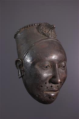 Bronzen Ifé herdenkingskop