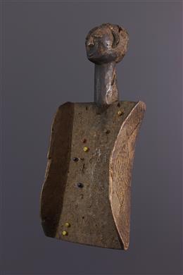 Afrikaanse kunst - Ezelsbruggetje luba Lukasa