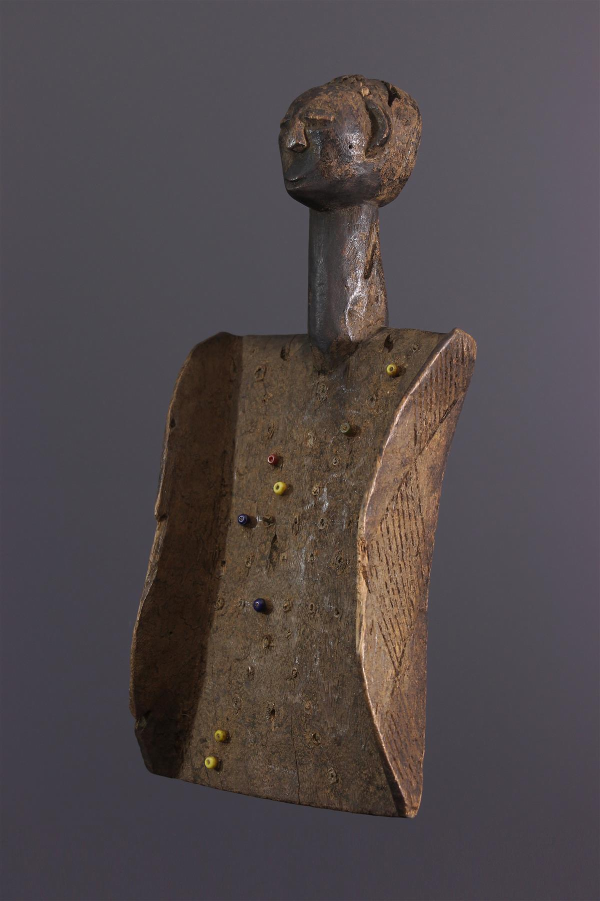 Luba bord - Afrikaanse kunst