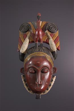 Afrikaanse kunst - Yaure Lomane masker